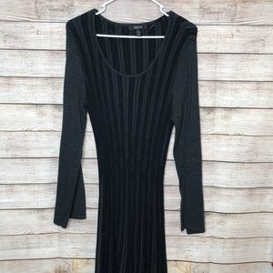 Style & Co Career or Work Sweater Knit Dress